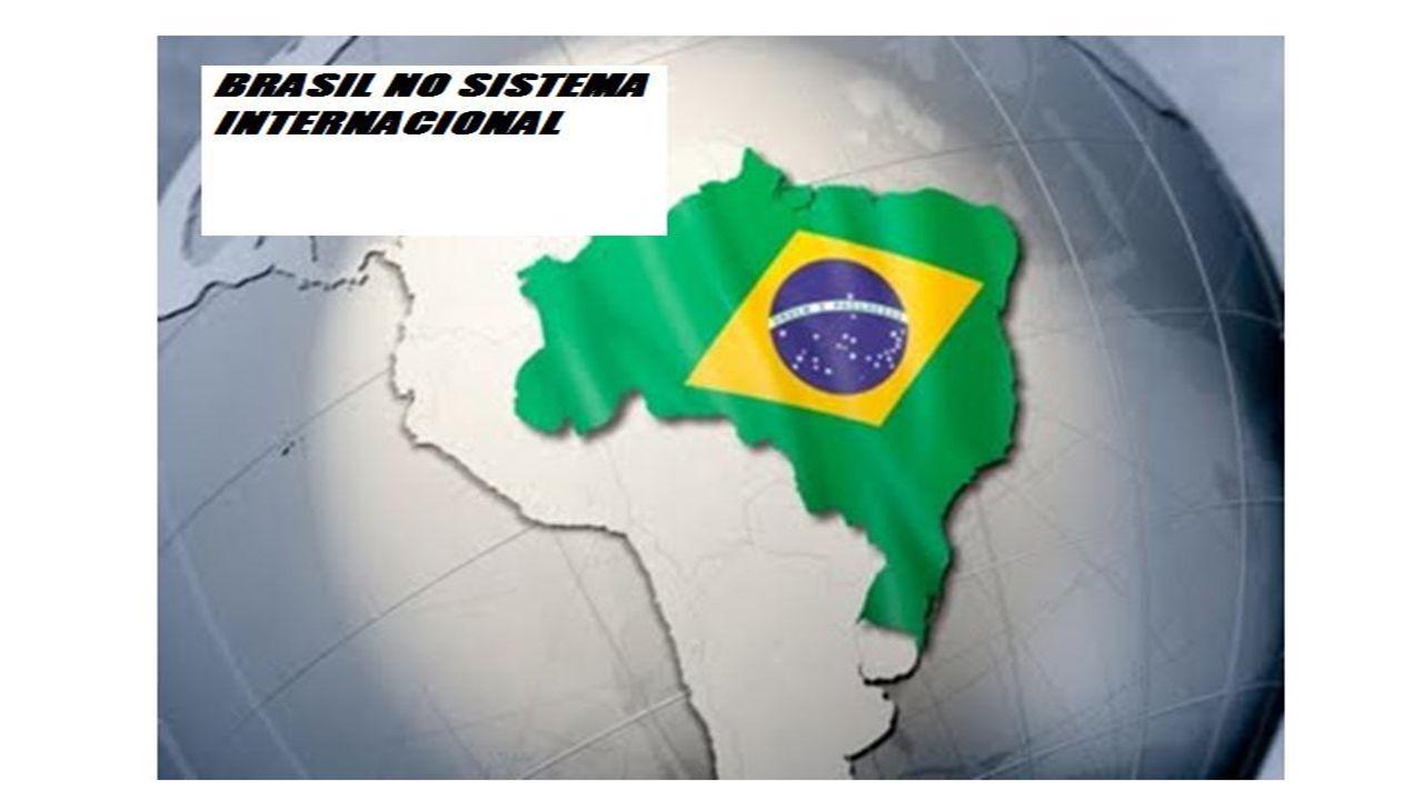 O PAPEL DO BRASIL NO SISTEMA INTERNACIONAL DE SEGURANÇA O Brasil desempenha um papel cada vez mais importante no sistema internacional e, em particular, no âmbito da segurança.