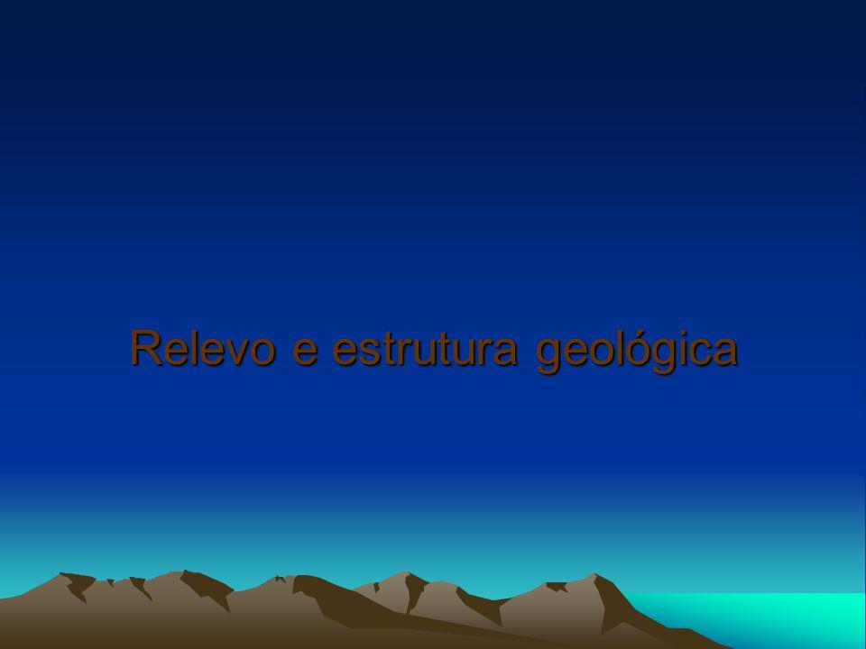 Relevo e estrutura geológica