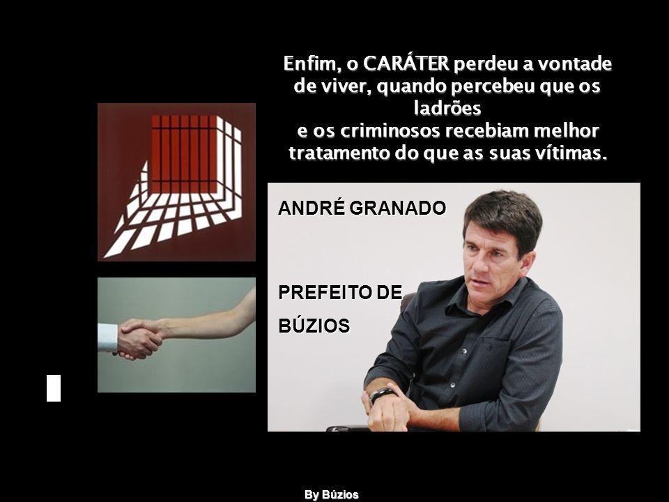 Seu estado se agravou, quando ele soube que dois ex-prefeitos de São Paulo haviam sido presos por terem praticado falcatruas no exercício do cargo, e