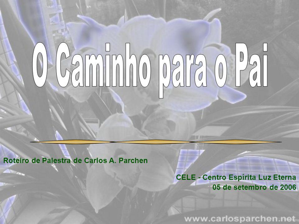 Roteiro de Palestra de Carlos A. Parchen CELE - Centro Espírita Luz Eterna 05 de setembro de 2006