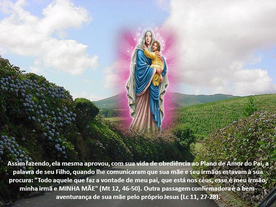 Pois bem. Maria foi a primeira e mais fiel SEGUIDORA desse Caminho da Vida na Verdade. Maria foi DISCÍPULA no Caminho da VERDADE, quando descobriu que