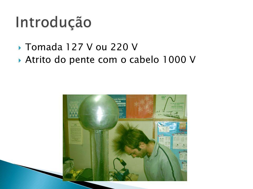  Tomada 127 V ou 220 V  Atrito do pente com o cabelo 1000 V
