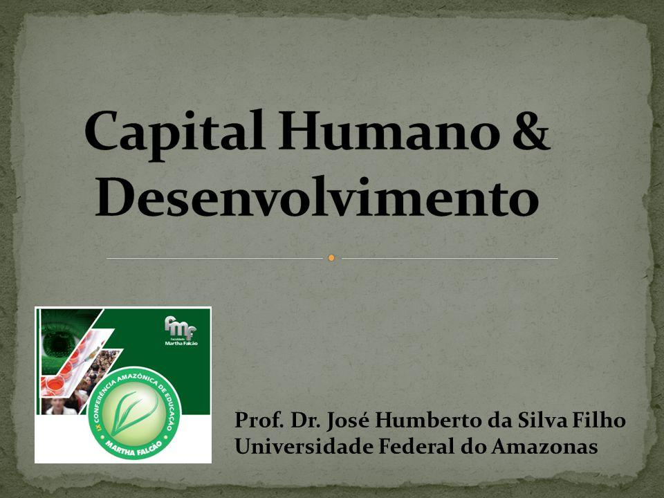 Prof. Dr. José Humberto da Silva Filho Universidade Federal do Amazonas