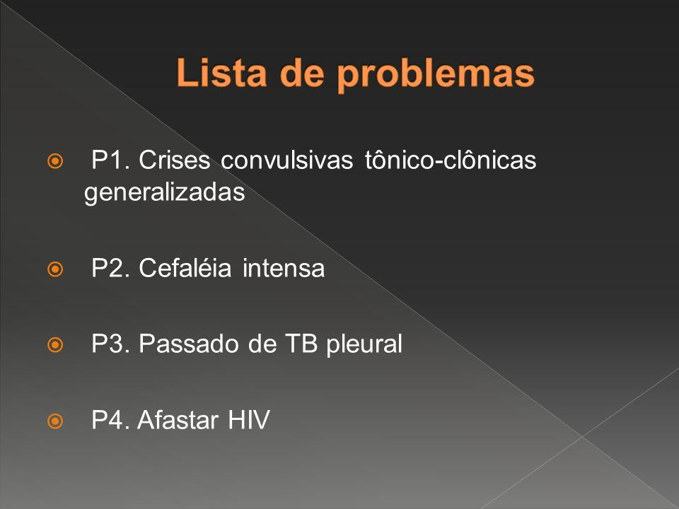  Diagnóstico Sindrômico - Síndrome Convulsiva ( S.