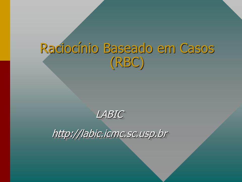 Raciocínio Baseado em Casos (RBC) LABIChttp://labic.icmc.sc.usp.brLABIChttp://labic.icmc.sc.usp.br