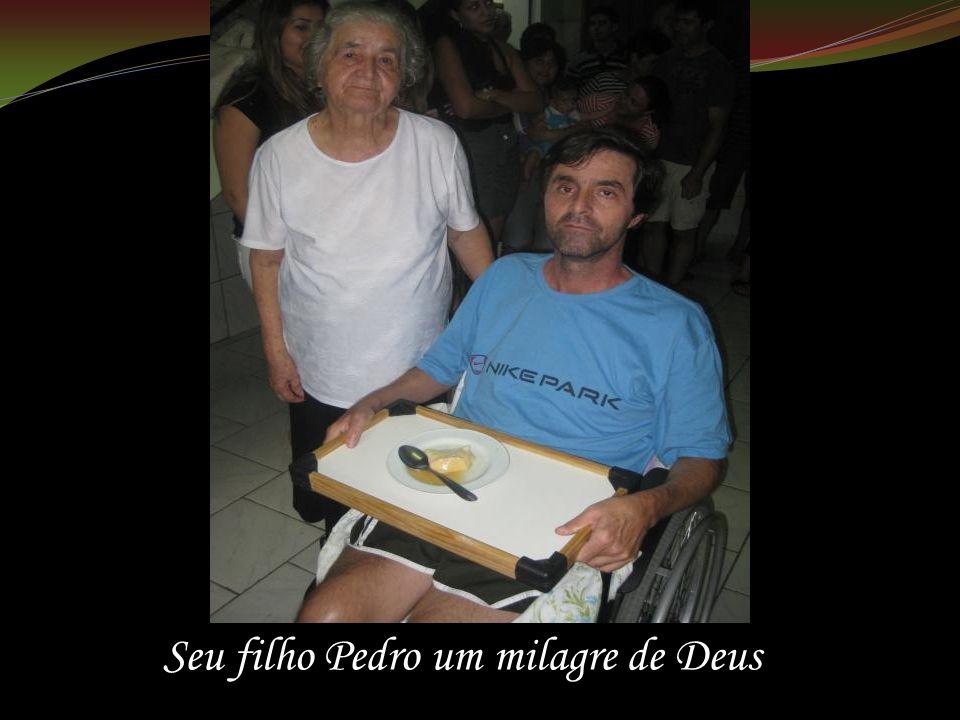 Seu filho Pedro um milagre de Deus