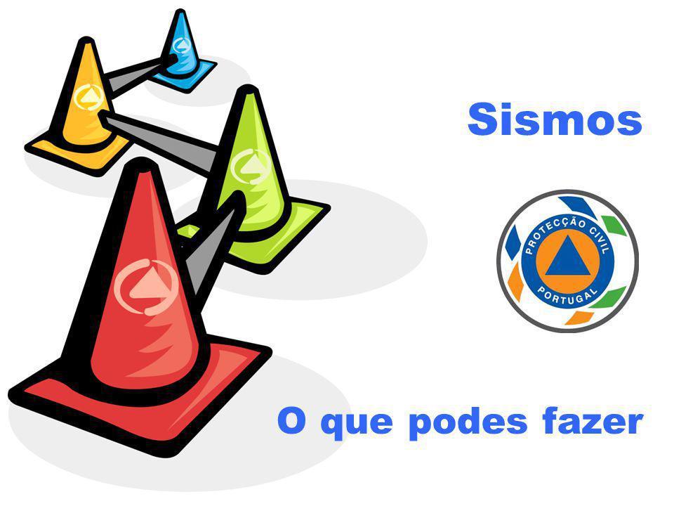 Os sismos ou tremores de terra são frequentes em Portugal.