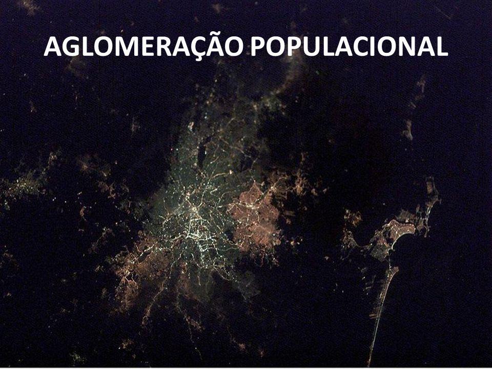 AGLOMERAÇÃO POPULACIONAL