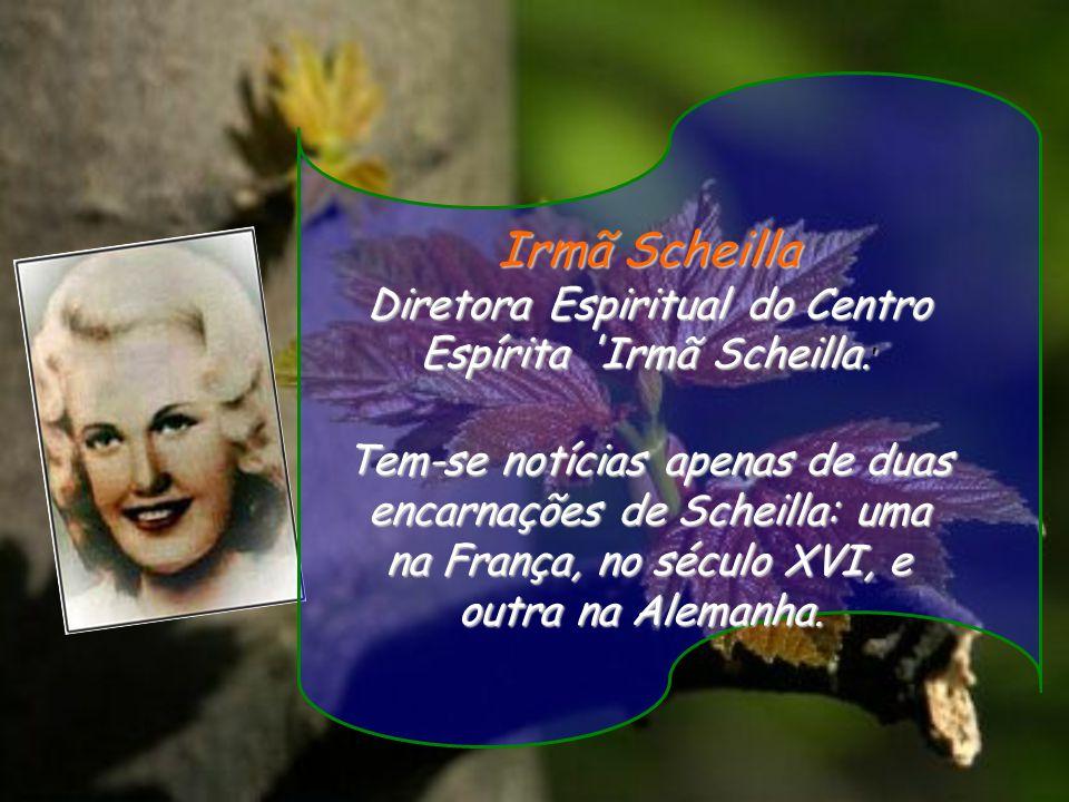 Irmã Scheilla Diretora Espiritual do Centro Espírita Irmã Scheilla.