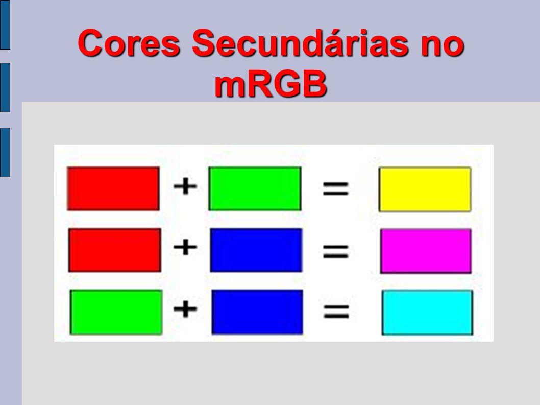 Cores Secundárias no mRGB