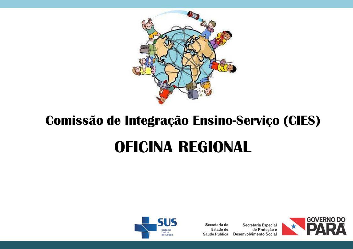 Pactos e ações indispensáveis ao funcionamento da CIES:  Indicação de representantes institucionais compromissados.