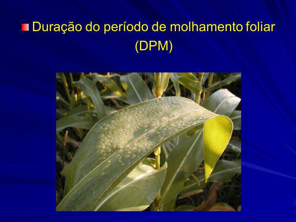 Importância da DPM –Doenças de plantas –Atividade de insetos –Maturação e colheita de culturas