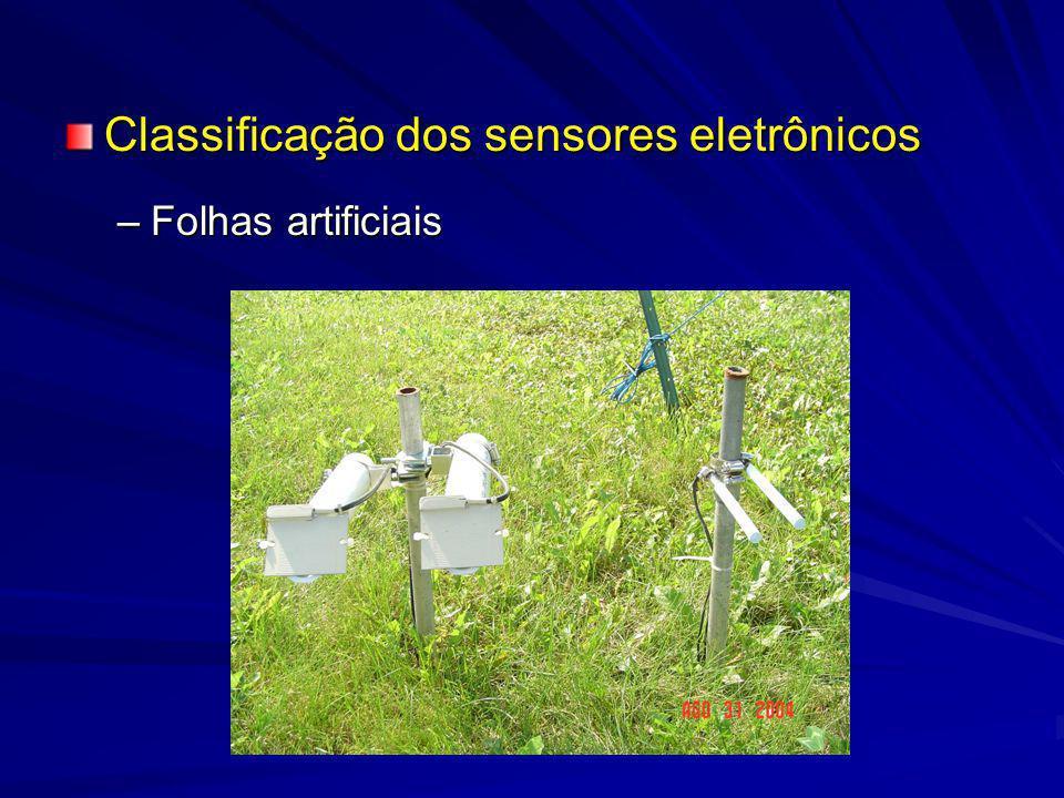 Primeira Etapa –Instalação de todos sensores cilíndricos a serem utilizados a 30 cm de altura, voltados para o sul, e com e mesmo ângulo de inclinação.