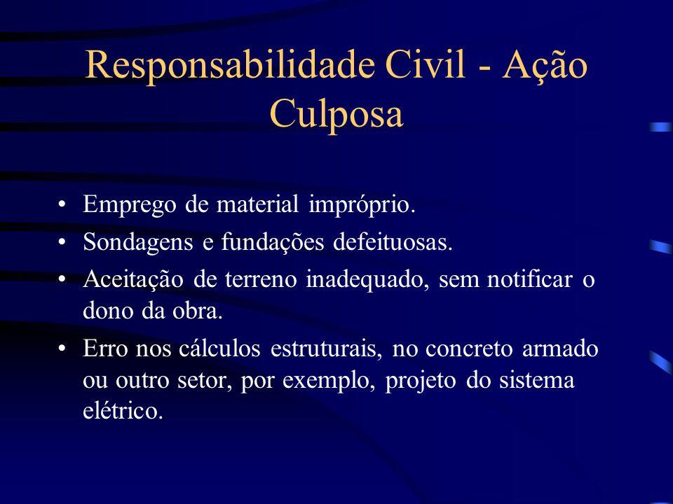 Concurso entre responsabilidade Civil e Negocial Negocial é a obrigação de reparar os danos resultantes do inadimplemento de contratos e outros negócios jurídicos.