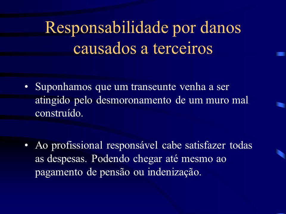 Responsabilidade por danos causados a vizinhos Solidariedade entre construtor e dono da obra.