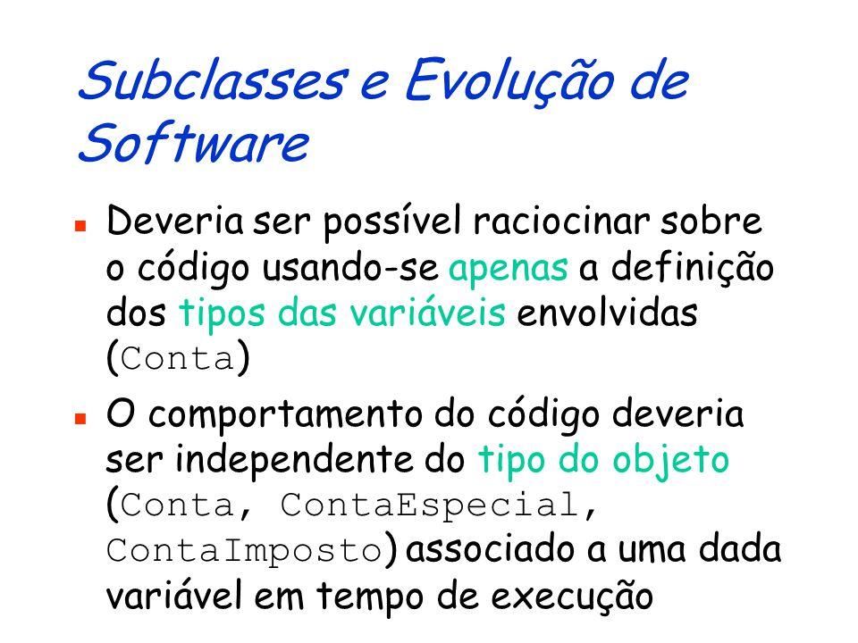 Revisão/Otimização de Código... double m(Conta c) { c.creditar(x); c.debitar(x); return c.getSaldo(); }... Modificação é correta? Em que contextos?...