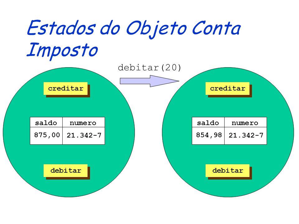 Definindo Classes Abstratas public abstract class ContaAbstrata { private String numero; private double saldo; public ContaAbstrata (String numero) { this.numero = numero; saldo = 0.0; } public void creditar(double valor) { saldo = saldo + valor; } /*...