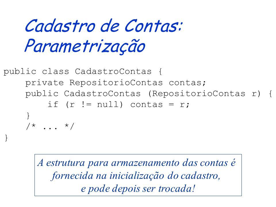O que usar? Quando? Classes (abstratas) Agrupa objetos com implementações compartilhadas Define novas classes através de herança (simples) de código S