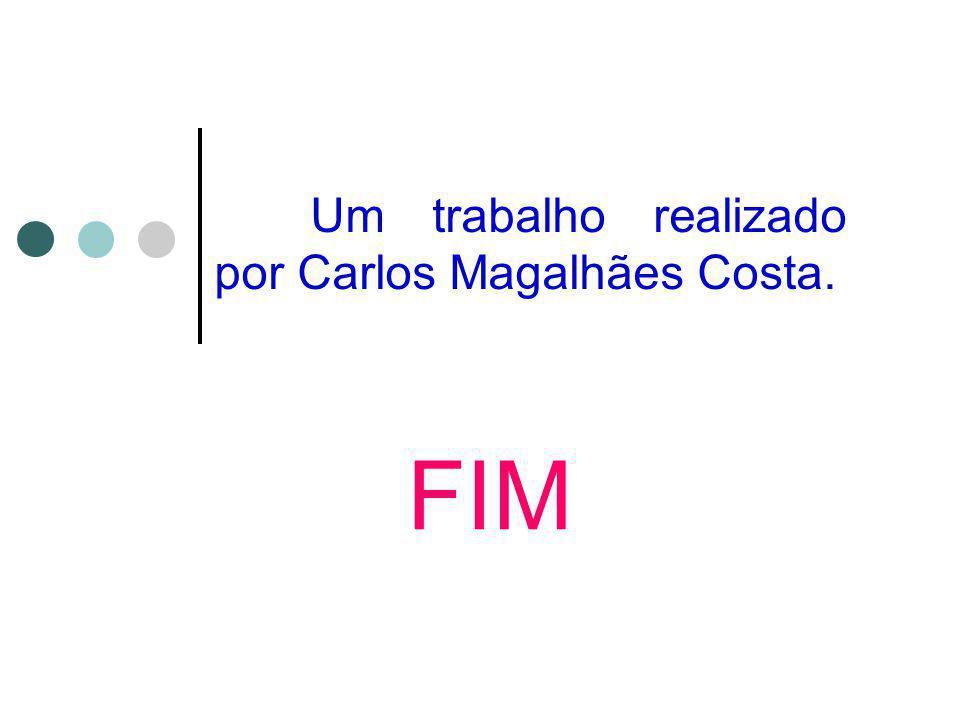 Um trabalho realizado por Carlos Magalhães Costa. FIM