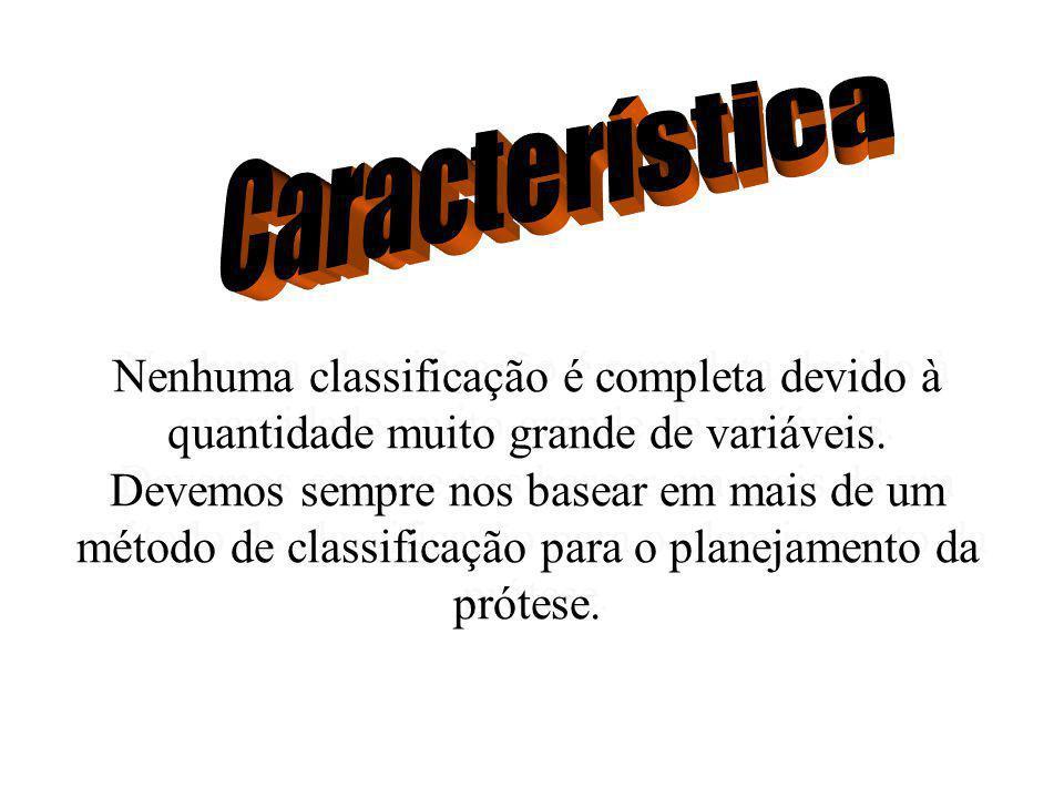 Prótese Parcial Removível CLASSIFICAÇÃO DOS ARCOS PARCIALMENTE DENTADOS