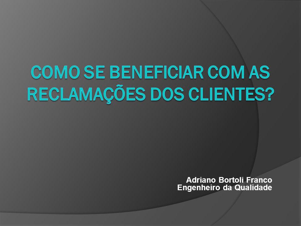 Adriano Bortoli Franco Engenheiro da Qualidade