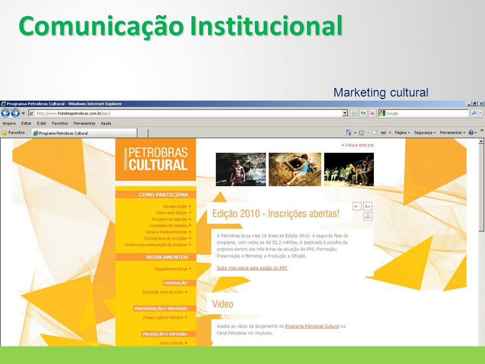 Comunicação Institucional Marketing cultural