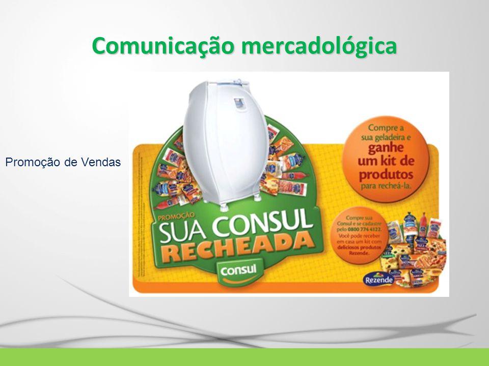 Comunicação mercadológica Promoção de Vendas
