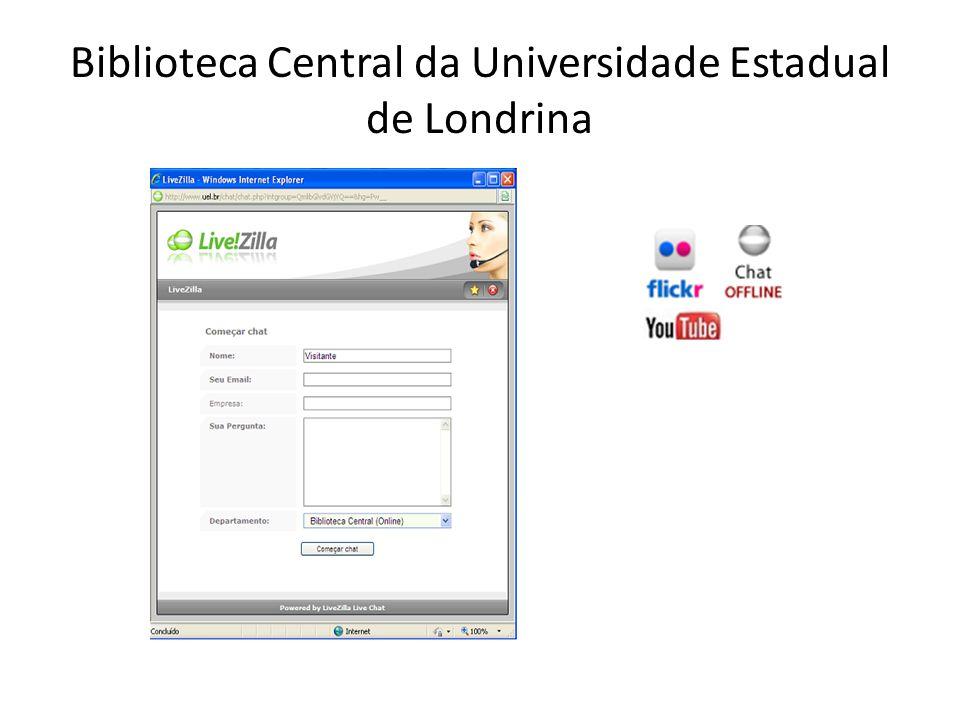 Biblioteca Central da Universidade Estadual de Londrina