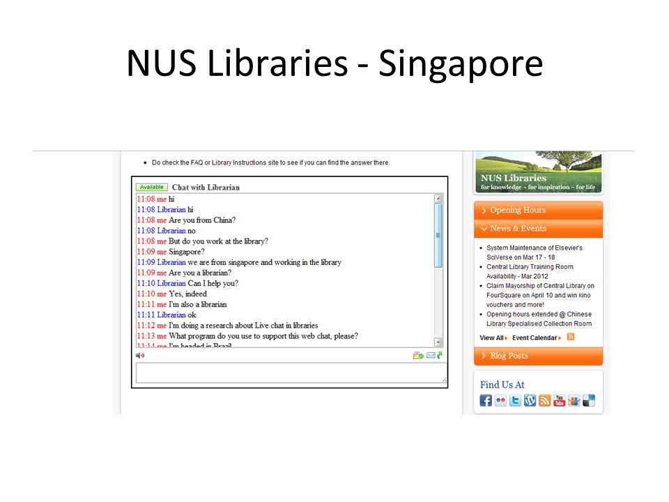 NUS Libraries - Singapore