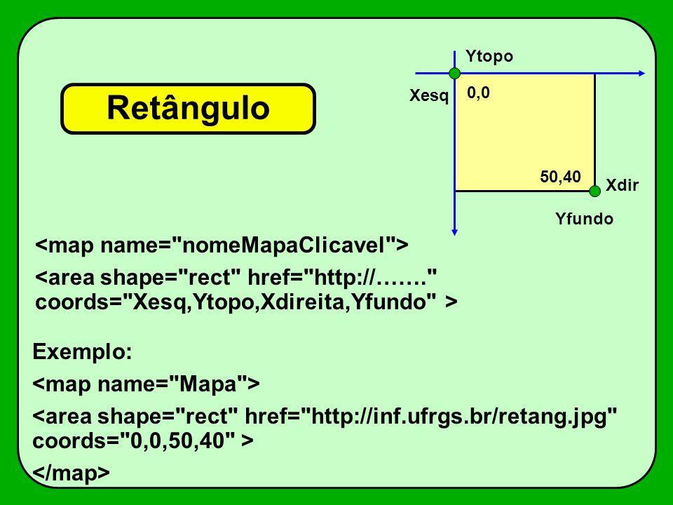 Retângulo Xesq Ytopo Xdir Yfundo Exemplo: 0,0 50,40