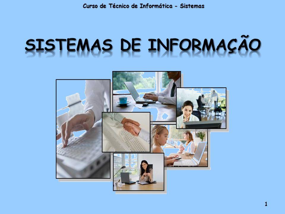Curso de Técnico de Informática - Sistemas 1