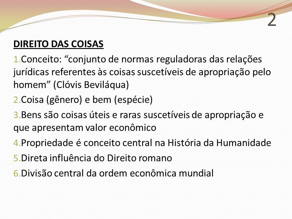 2 DIREITO DAS COISAS 1.