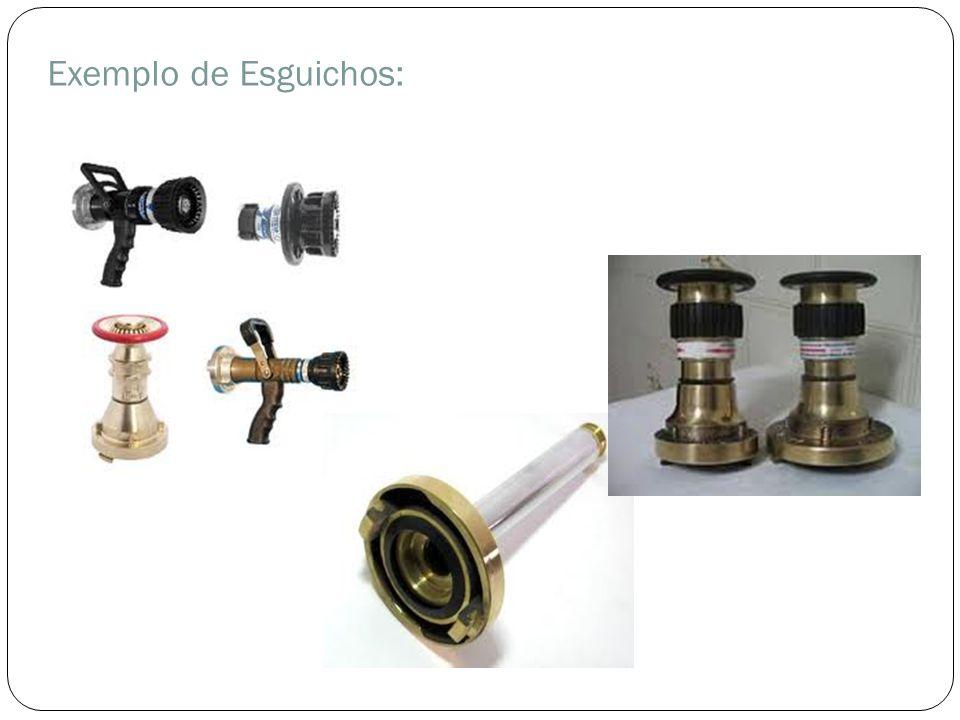 Exemplo de Esguichos: