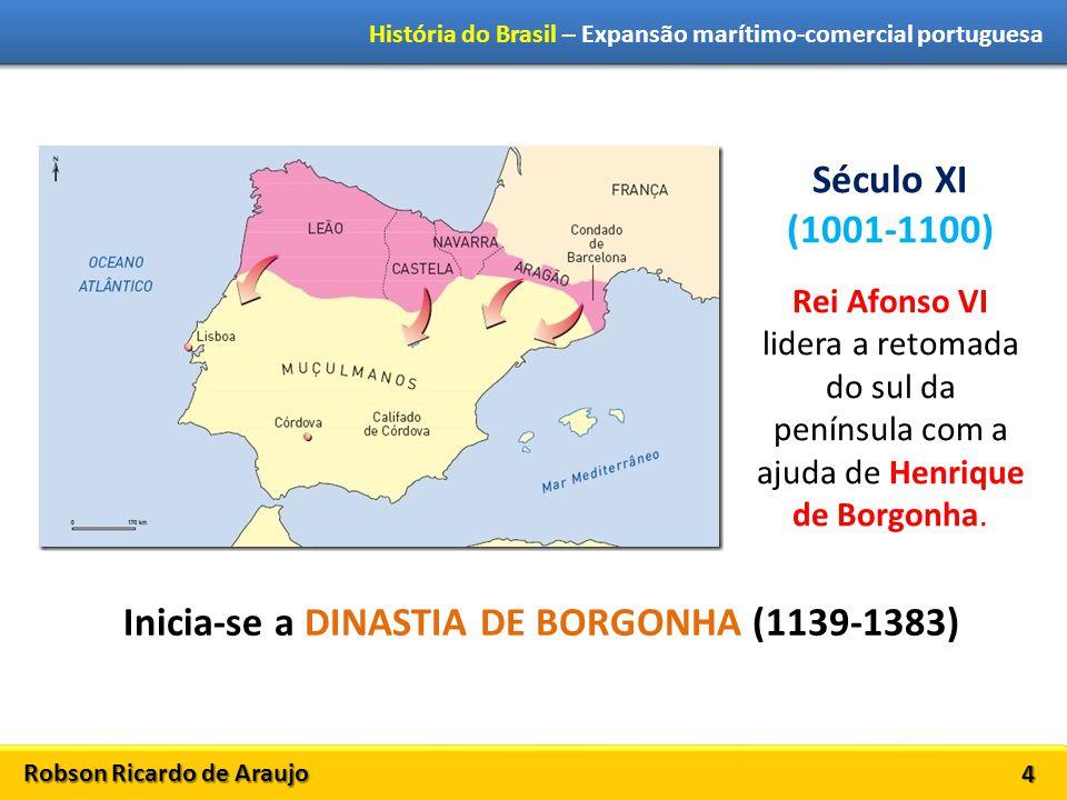 Robson Ricardo de Araujo História do Brasil – Expansão marítimo-comercial portuguesa 5