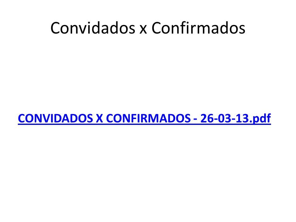 Convidados x Confirmados CONVIDADOS X CONFIRMADOS - 26-03-13.pdf