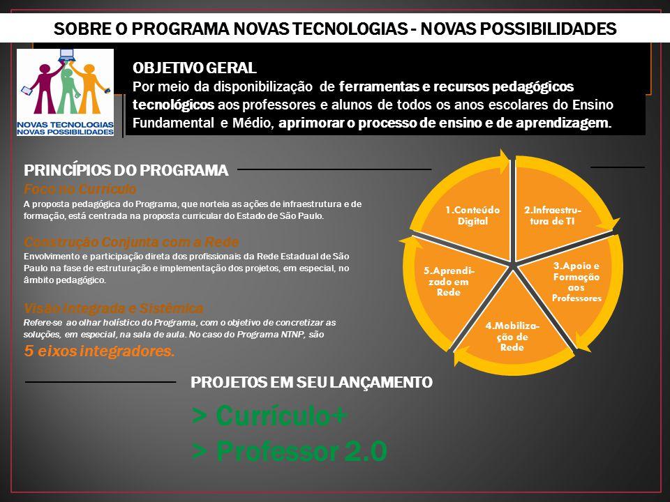 OBJETIVO GERAL Por meio da disponibilização de ferramentas e recursos pedagógicos tecnológicos aos professores e alunos de todos os anos escolares do