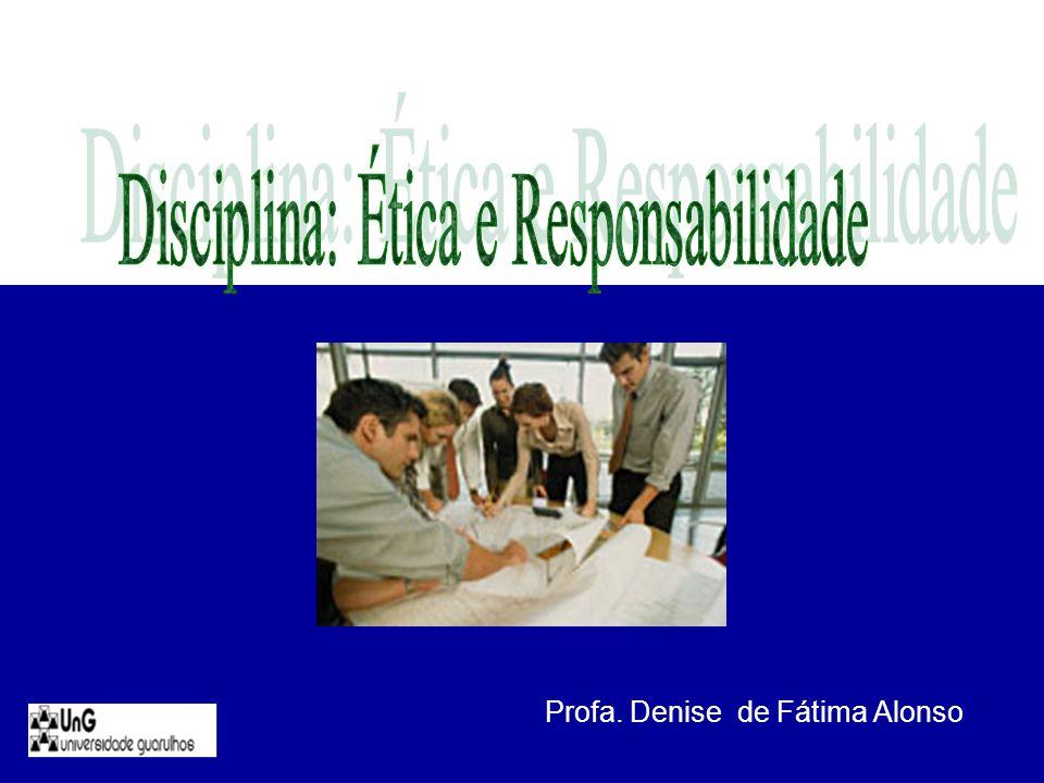 Profa. Denise de Fátima Alonso