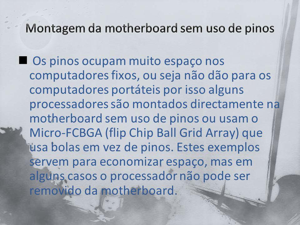 Exemplo Micro-FCBGA (flip Chip Ball Grid Array)