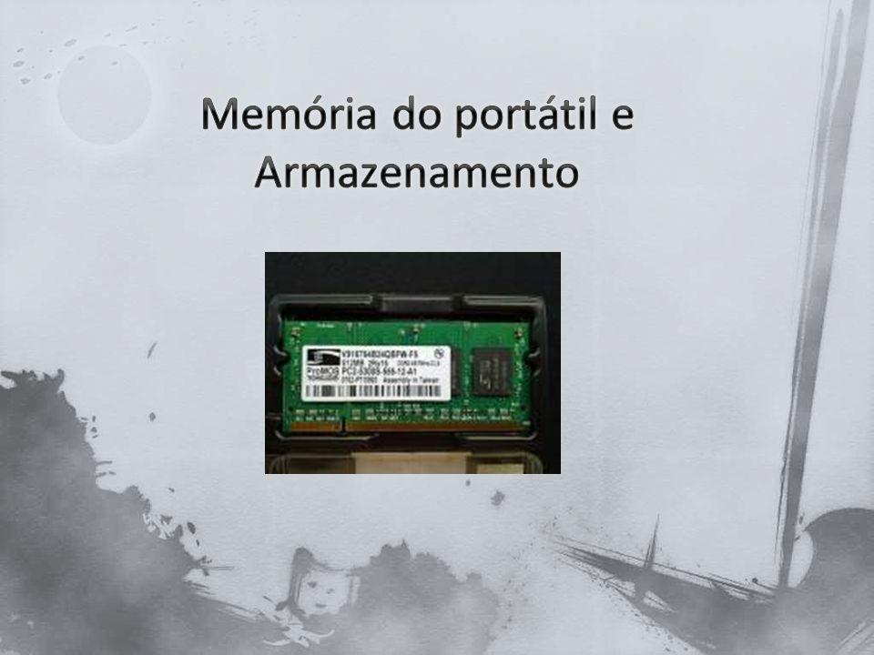 A memória de um computador portátil pode compensar algum desempenho de um processador mais lento.
