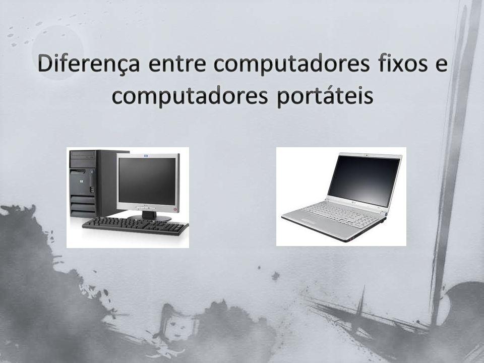 De certa forma, a popularidade ascendente de computadores portáteis é irônico.