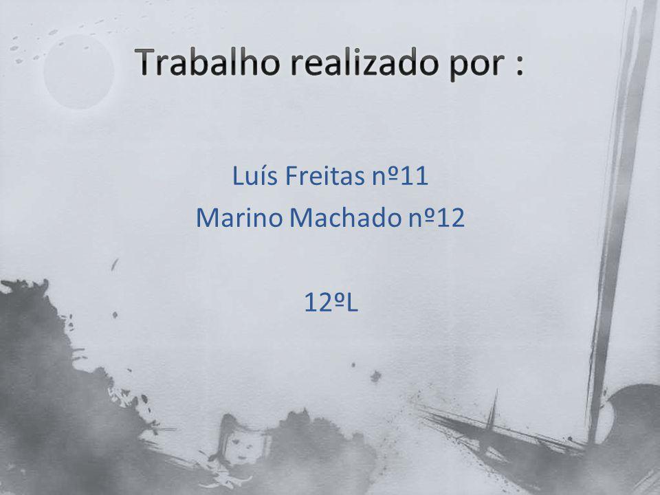 Luís Freitas nº11 Marino Machado nº12 12ºL