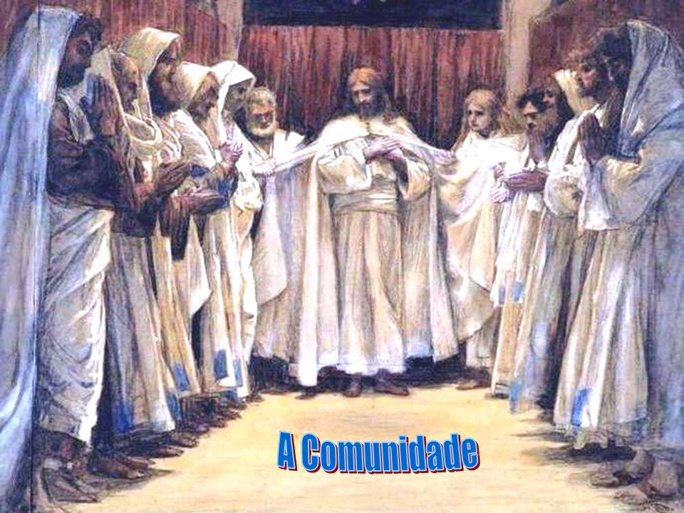 * É na COMUNIDADE que encontramos as provas que Jesus está vivo.