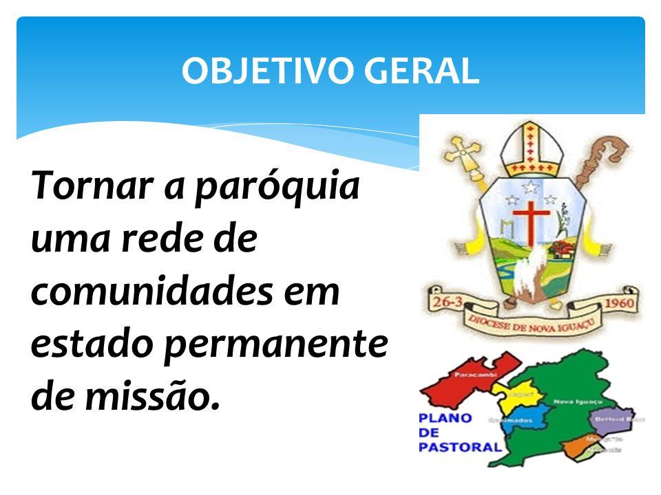 1.Favorecer a conversão pastoral dos ministros religiosos, consagrados, leigos e leigas, priorizando a formação missionária dos mesmos.