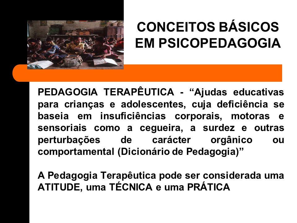 PSICOPEDAGOGIA - Entende-se a Psicopedagogia como área de estudo interdisciplinar, abrangendo diferentes áreas do conhecimento e cujo campo de actuação pode ser identificado pelo processo ensino/aprendizagem (Andrade, 1988).