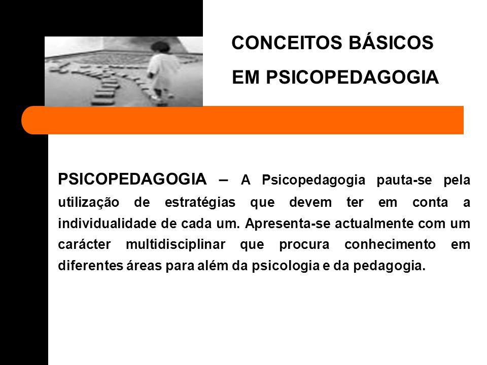 Os Conceitos de Psicopedagogia e Pedagogia Terapêutica são semelhantes e existem ainda outros termos para designar o mesmo conceito.