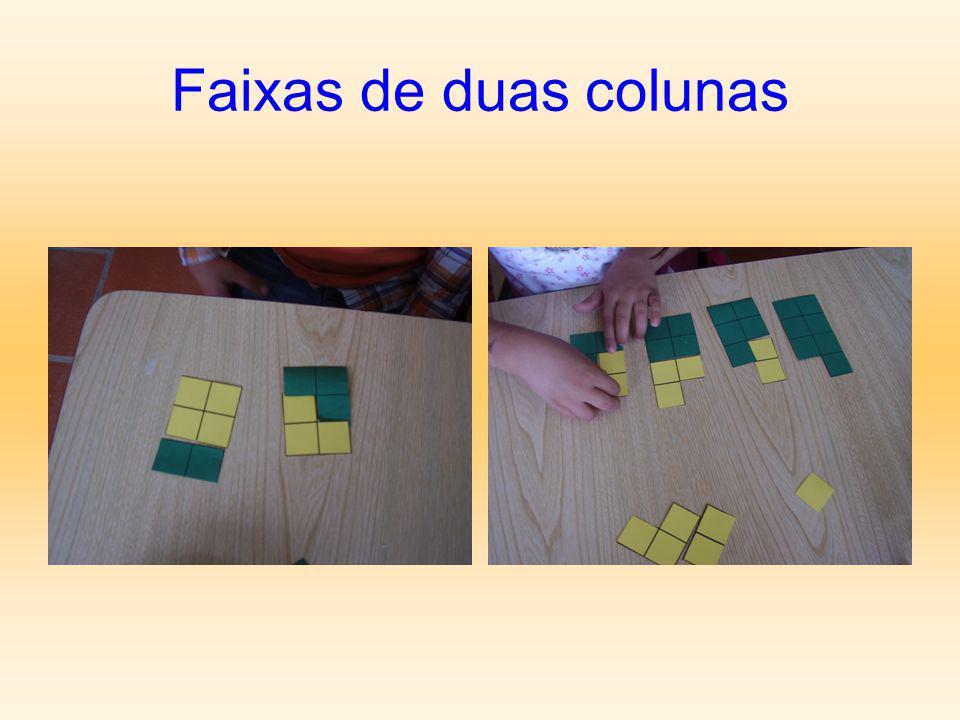 Faixas de duas colunas