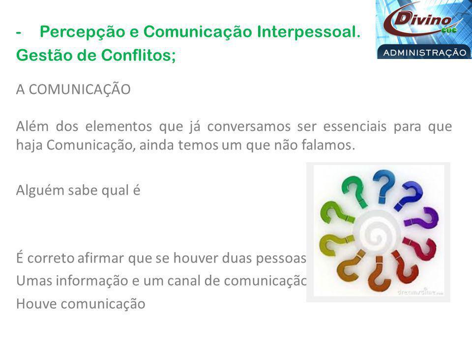 COMUNICAÇÃO – O que é CONFLITO.Oposição de interesses, sentimentos, ideias.
