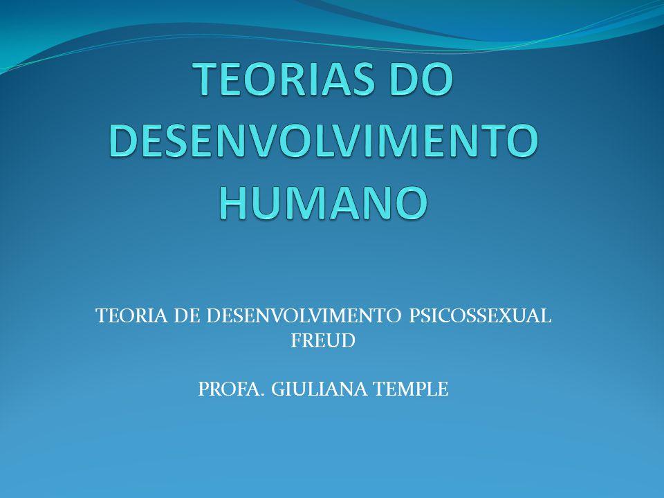 TEORIA DE DESENVOLVIMENTO PSICOSSEXUAL FREUD PROFA. GIULIANA TEMPLE