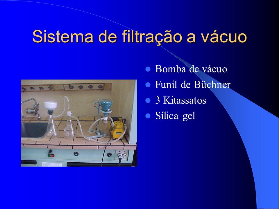 Chapas de aquecimento e agitação Agitação - Utilizada para misturar reagentes com amostra. Aquecimento - Para acelerar o processo digestivo de aliment
