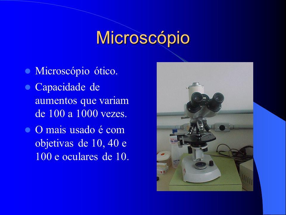 Lupa Microscópio estereoscópico. Capacidade de aumentos que variam de 0 a 60 vezes. Métodos da A.O.A.C. usam para contagem de sujidades, 30 vezes de a